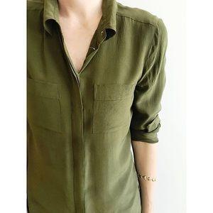Madewell Silk Tunic